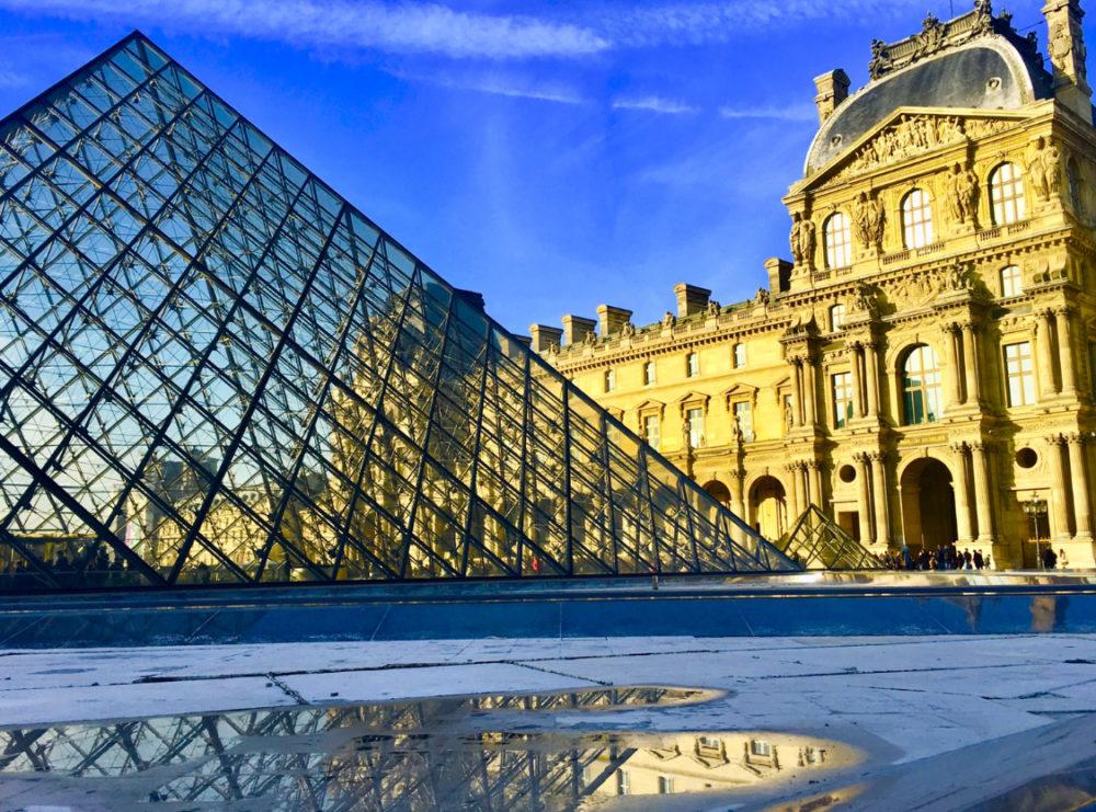 Museo del Louvre - Piramide di vetro