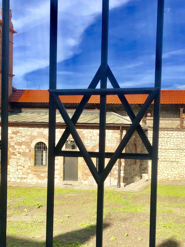 QUARTIERE EBRAICO KAZIMIERZ - Stella di David su un Cancello