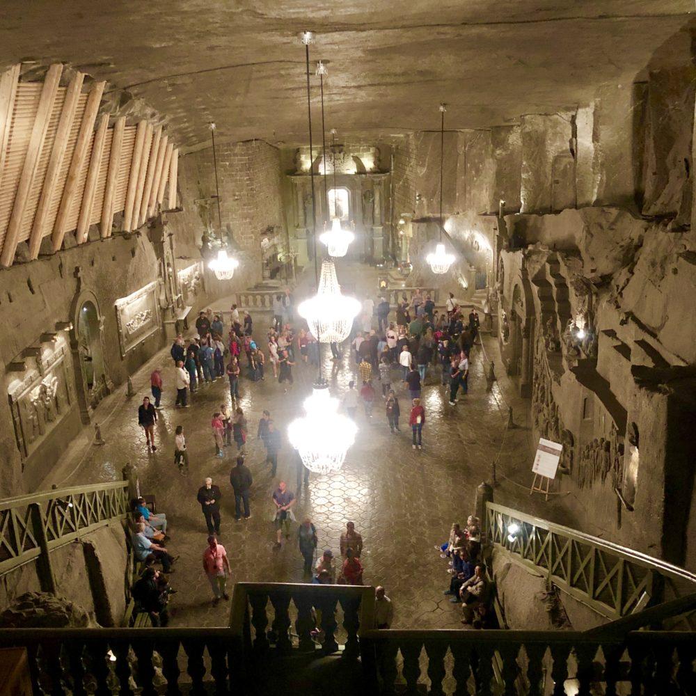 Miniere Wieliczka: Cattedrale sotterranea della Polonia, cattedrale presente all'interno della miniera Wieliczka, interamente in sale