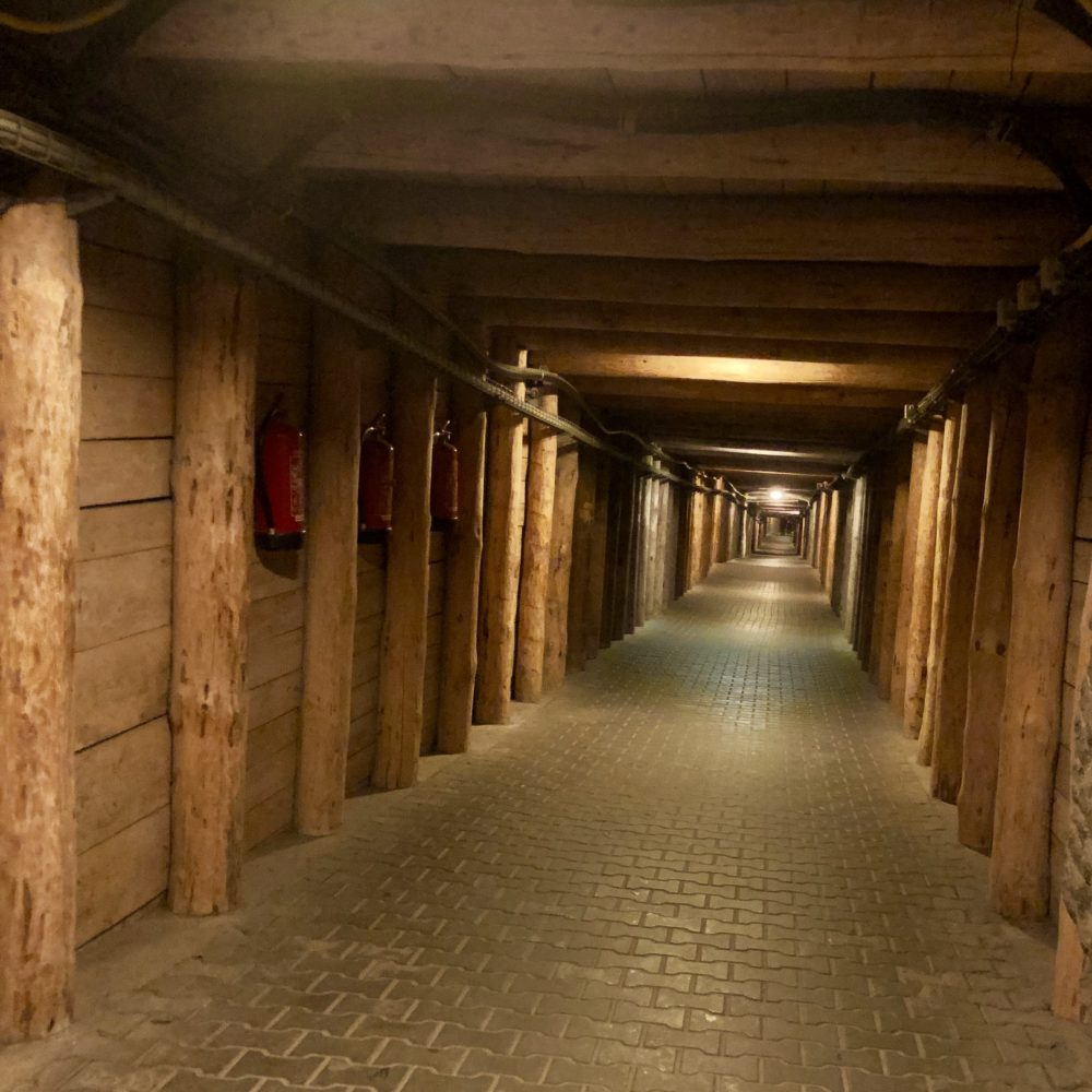 Miniere Wieliczka: galleria della miniera Wieliczka