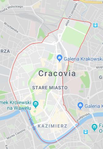 DOVE DORMIRE A CRACOVIA - Stare Miasto